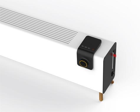 踢脚线电暖器外观结构设计