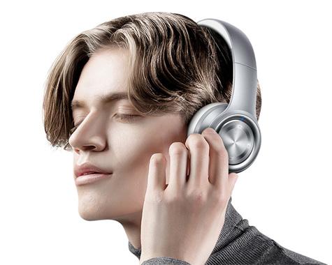 头戴耳机外观结构设计